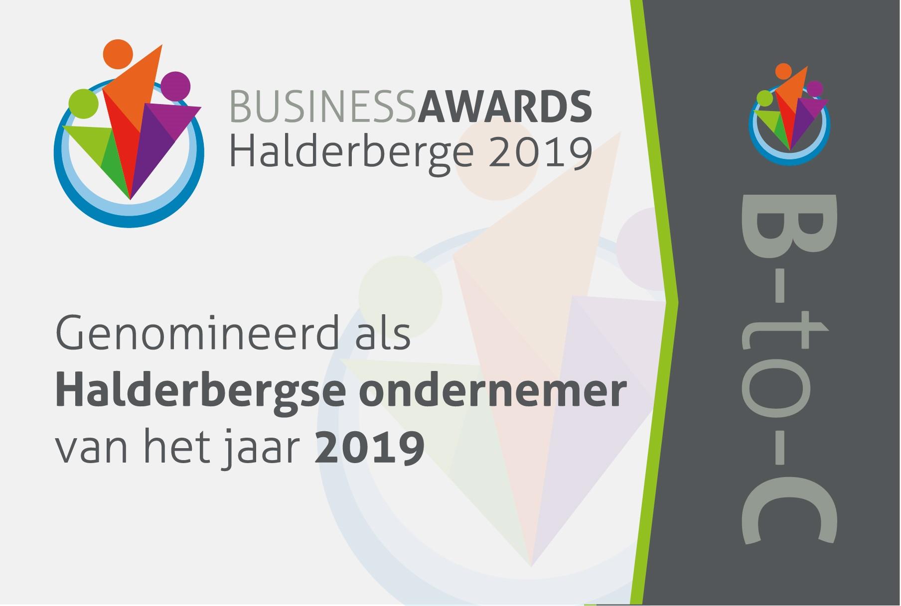 Business Awards Halderberge 2019